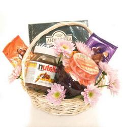Корзина с продуктами «Tea basket»