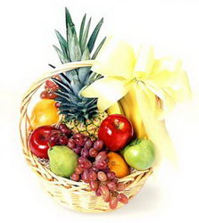 Корзина с продуктами «Fruit mix»