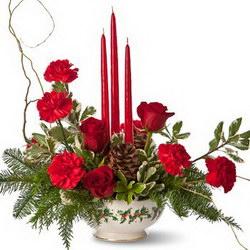 Композиция «New Year by candlelight»