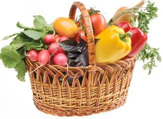 Корзина с продуктами «Vitamins»