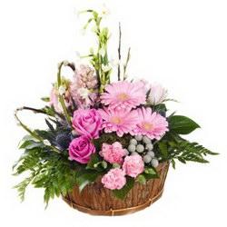 Корзина «Pink happiness»