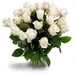 Букет «Gorgeous white roses»
