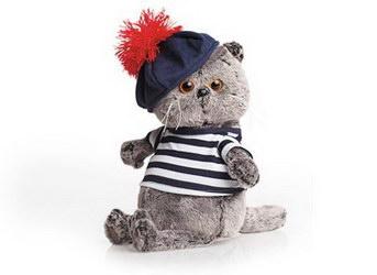 Мягкая игрушка «Cat-sailor»