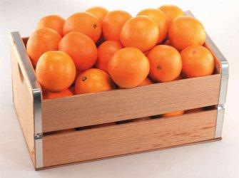 Корзина с продуктами «Tangerine mood»