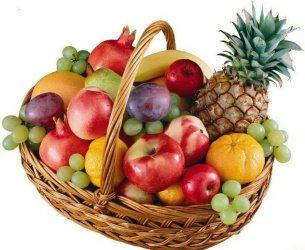 Корзина с продуктами «The fruit overseas»